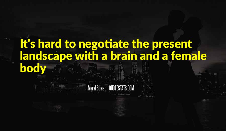Quotes About Negotiate #191365
