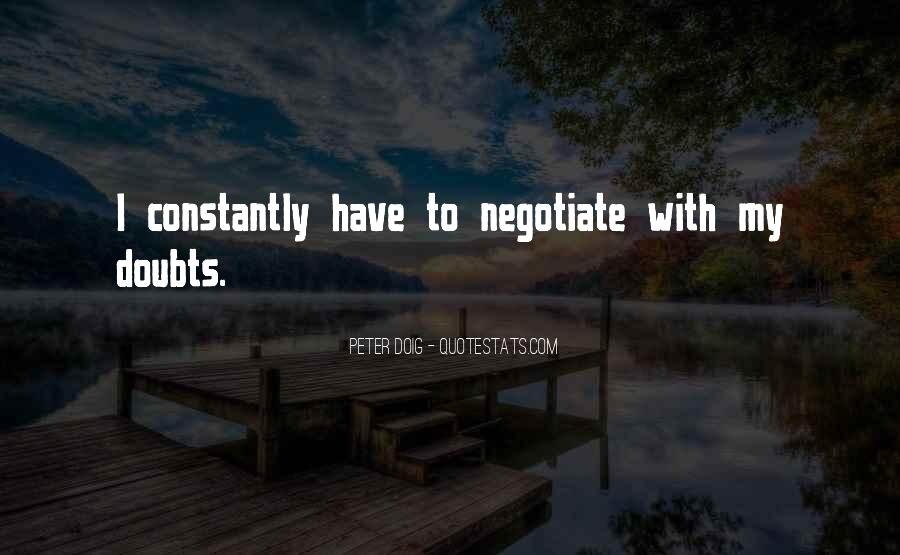 Quotes About Negotiate #19472