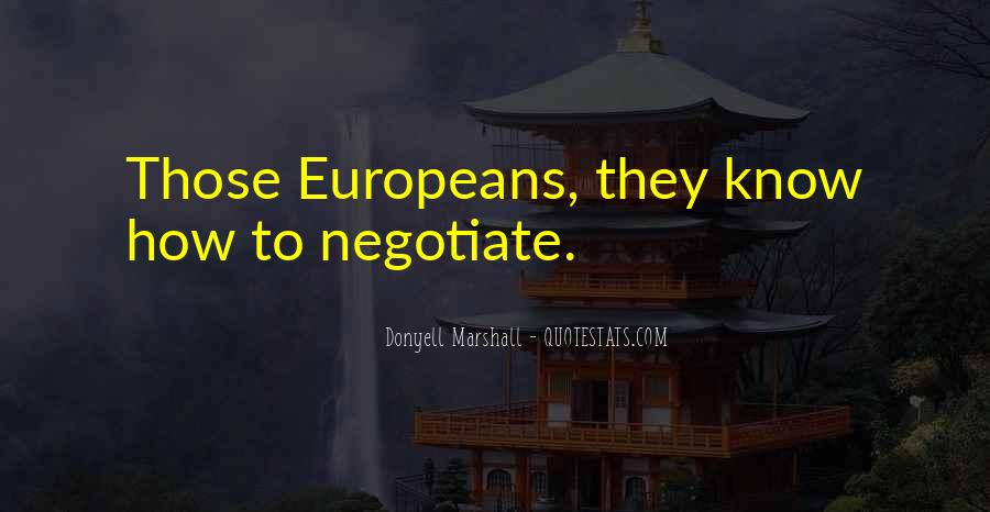 Quotes About Negotiate #243093