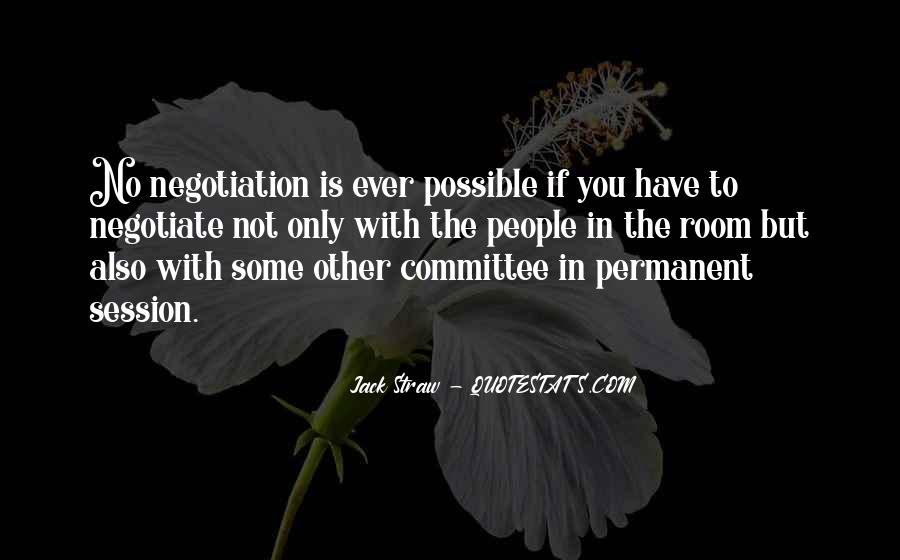 Quotes About Negotiate #256920