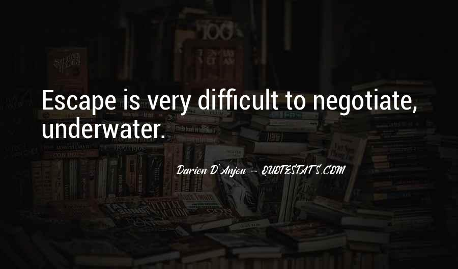 Quotes About Negotiate #265108