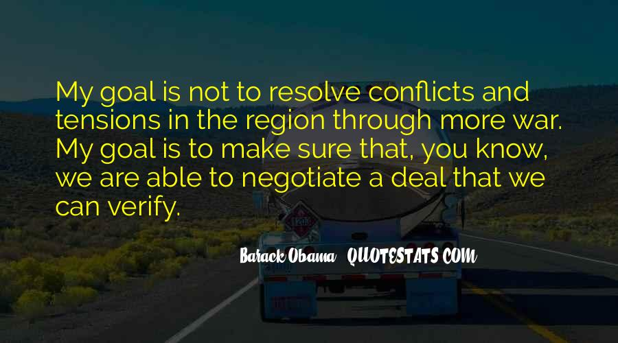 Quotes About Negotiate #344135