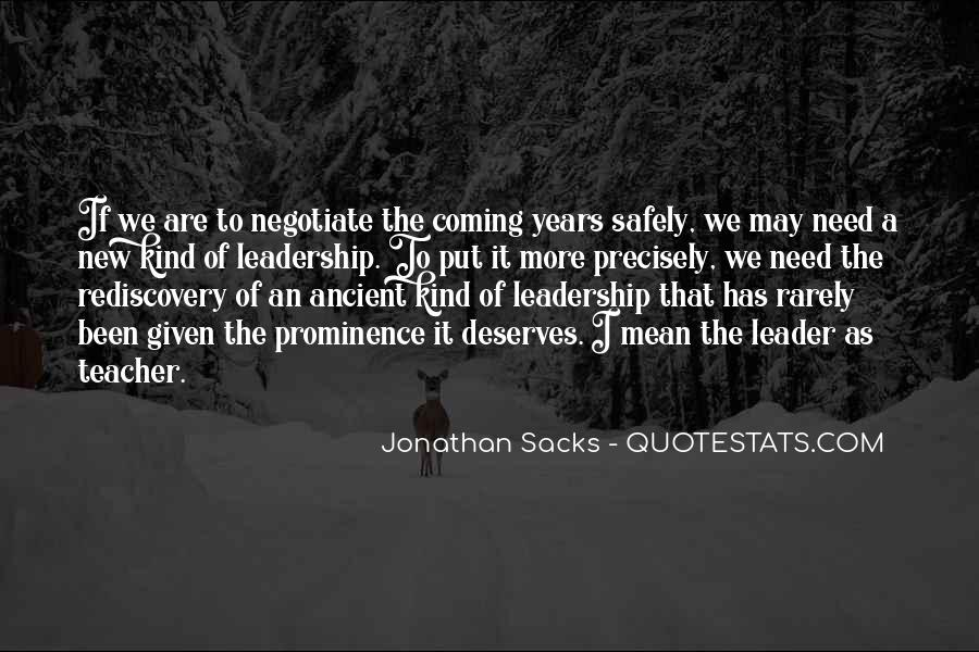 Quotes About Negotiate #408348