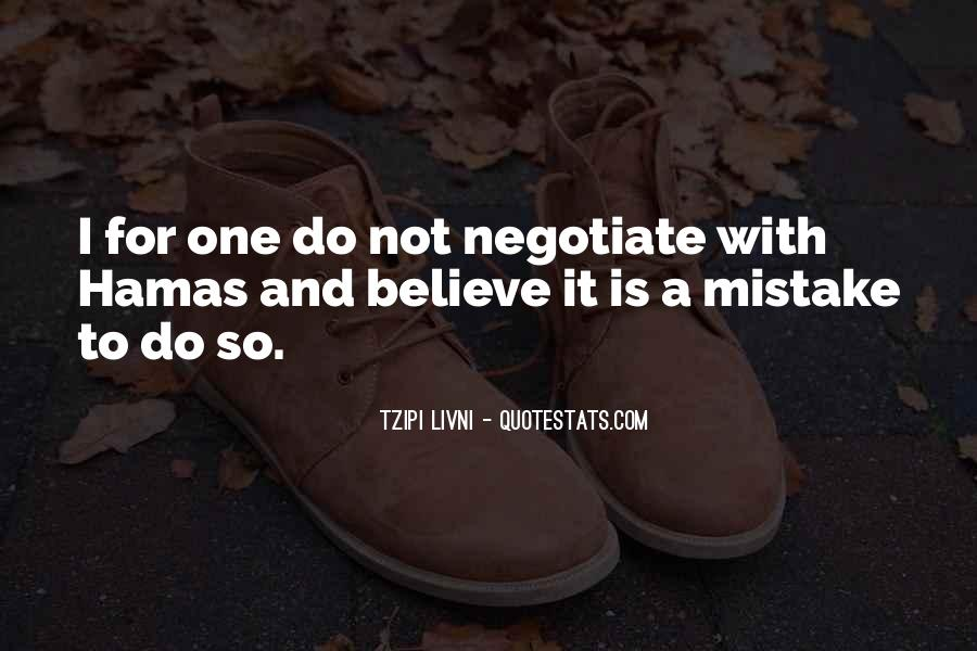 Quotes About Negotiate #628864