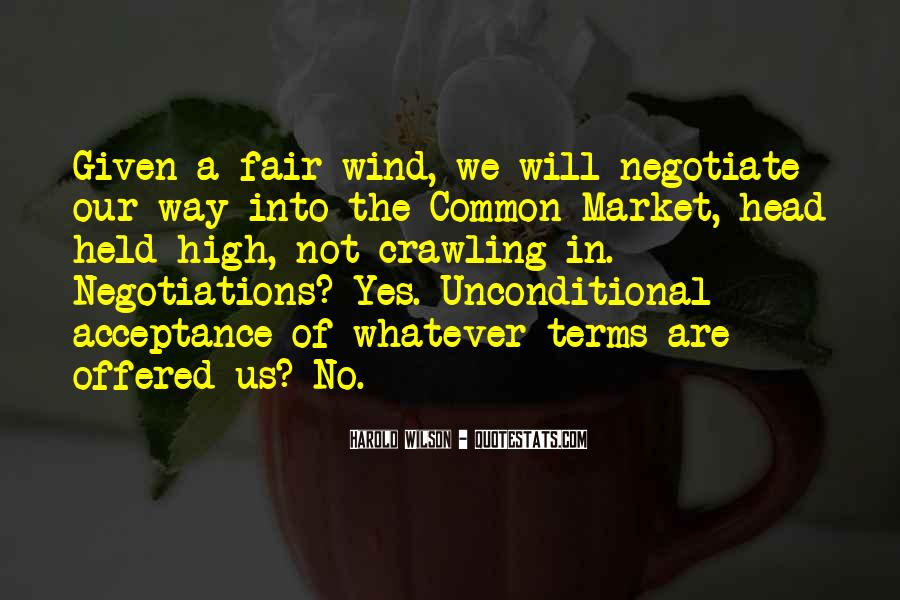 Quotes About Negotiate #6863