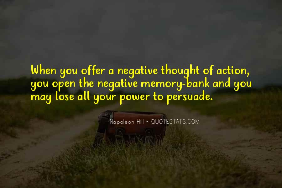 Quotes About Negative Thought #1006068