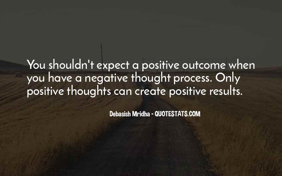 Quotes About Negative Thought #1044687