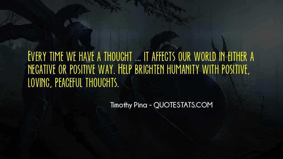 Quotes About Negative Thought #1099406