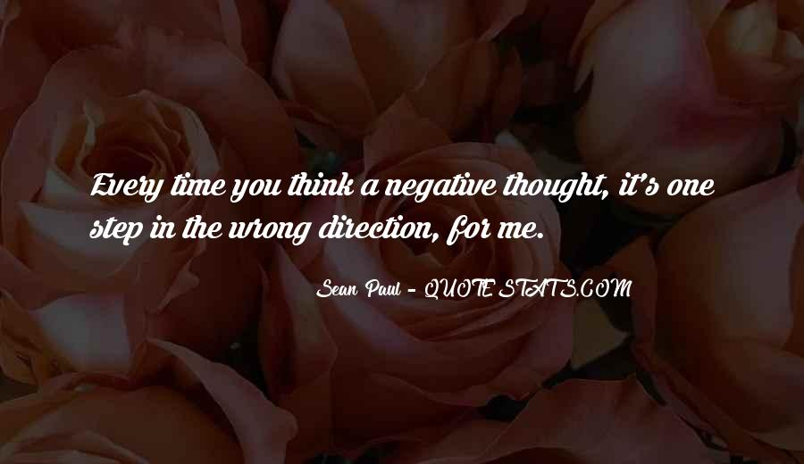 Quotes About Negative Thought #114407
