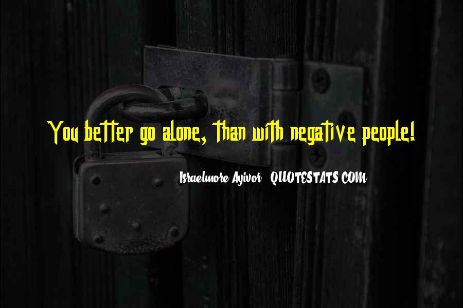 Quotes About Negative Thought #1253970