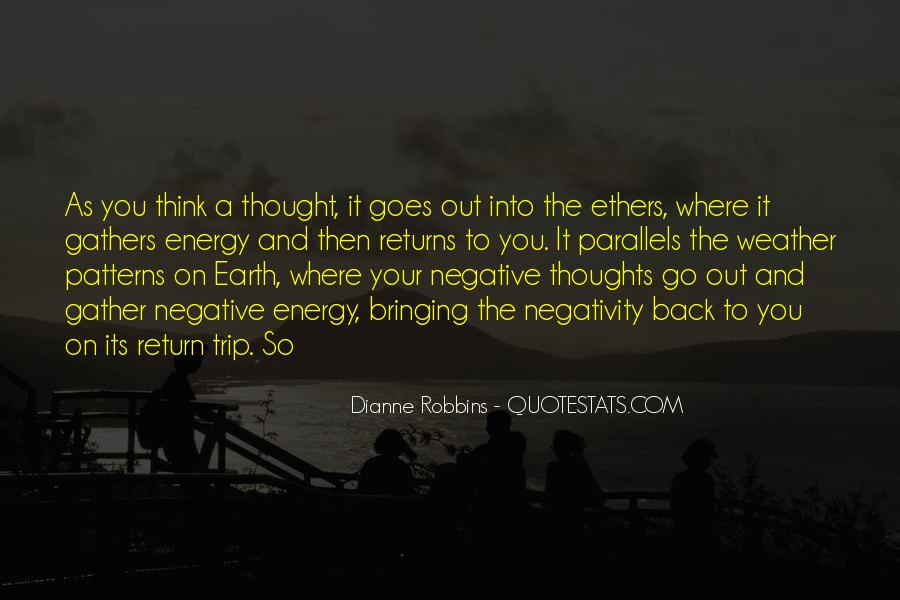 Quotes About Negative Thought #1321828