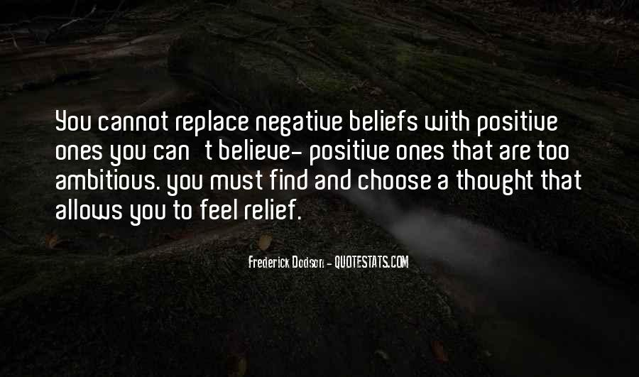 Quotes About Negative Thought #1323125