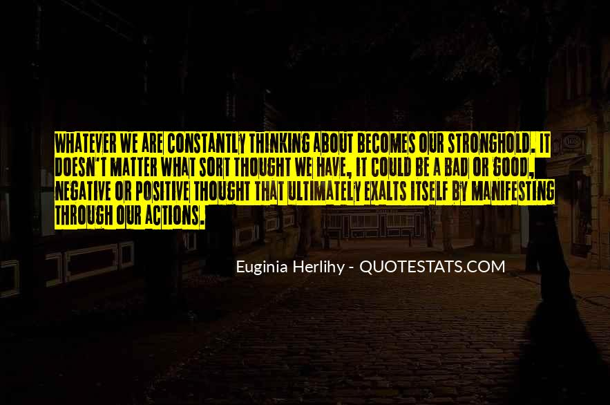 Quotes About Negative Thought #1485592