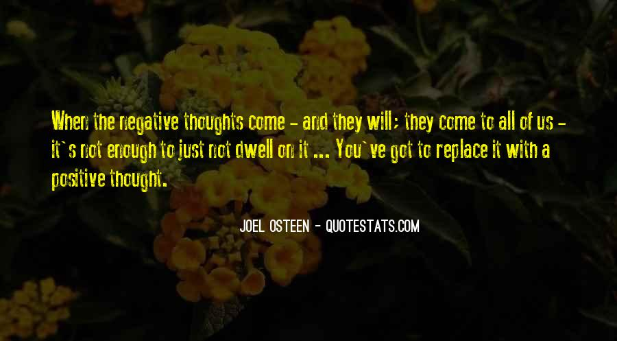 Quotes About Negative Thought #248700
