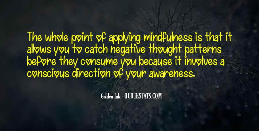 Quotes About Negative Thought #257786
