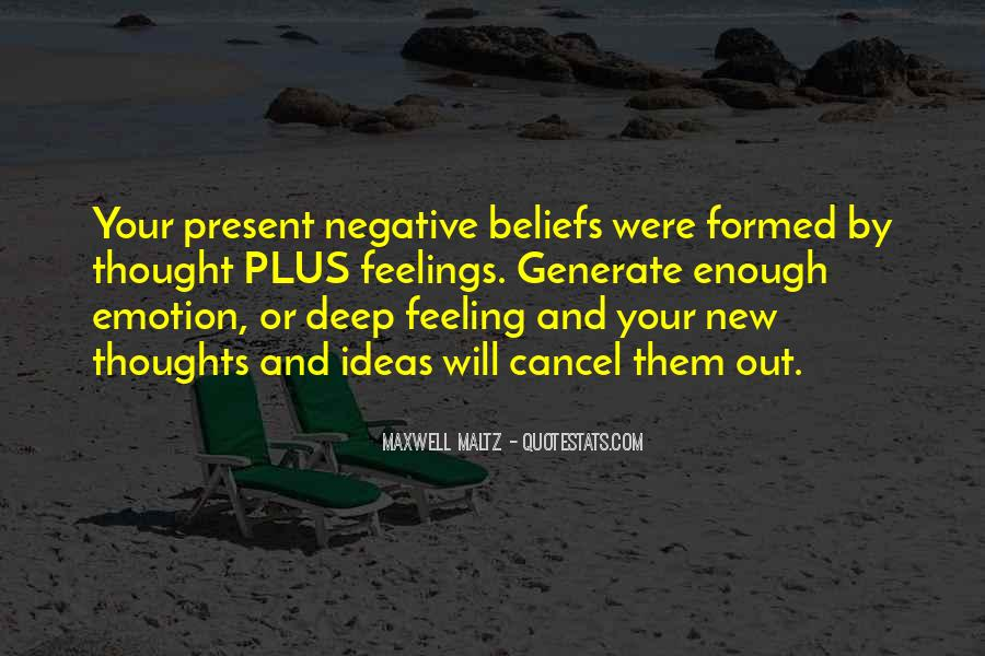 Quotes About Negative Thought #358320