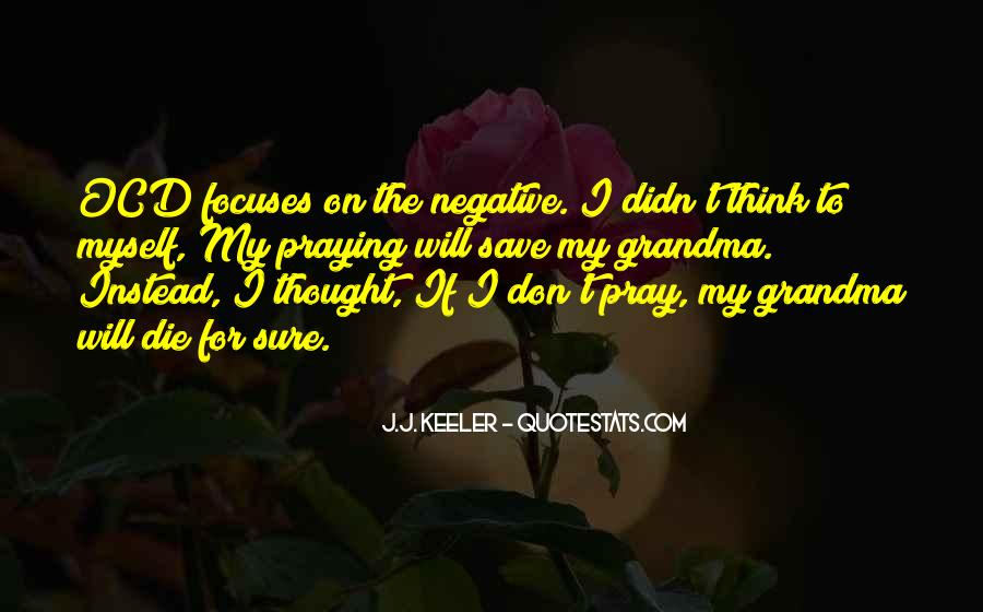 Quotes About Negative Thought #532342