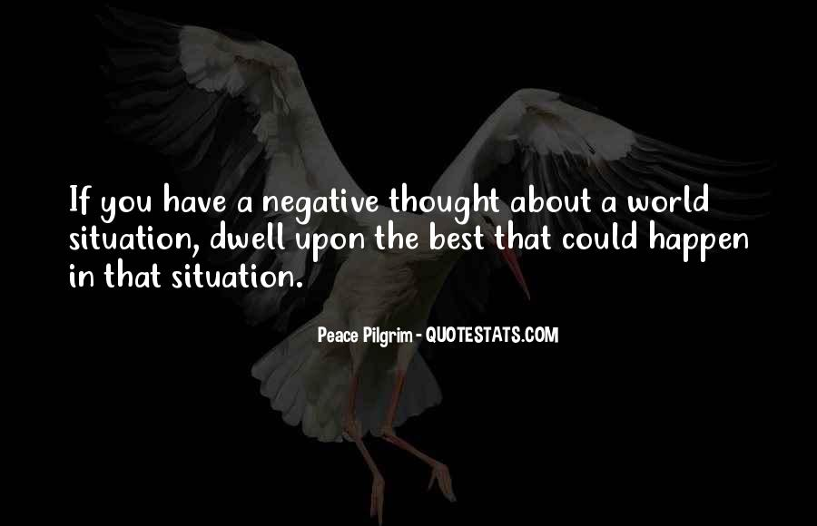 Quotes About Negative Thought #612875
