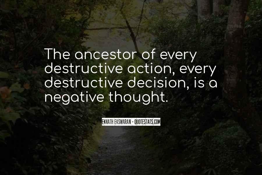 Quotes About Negative Thought #672903