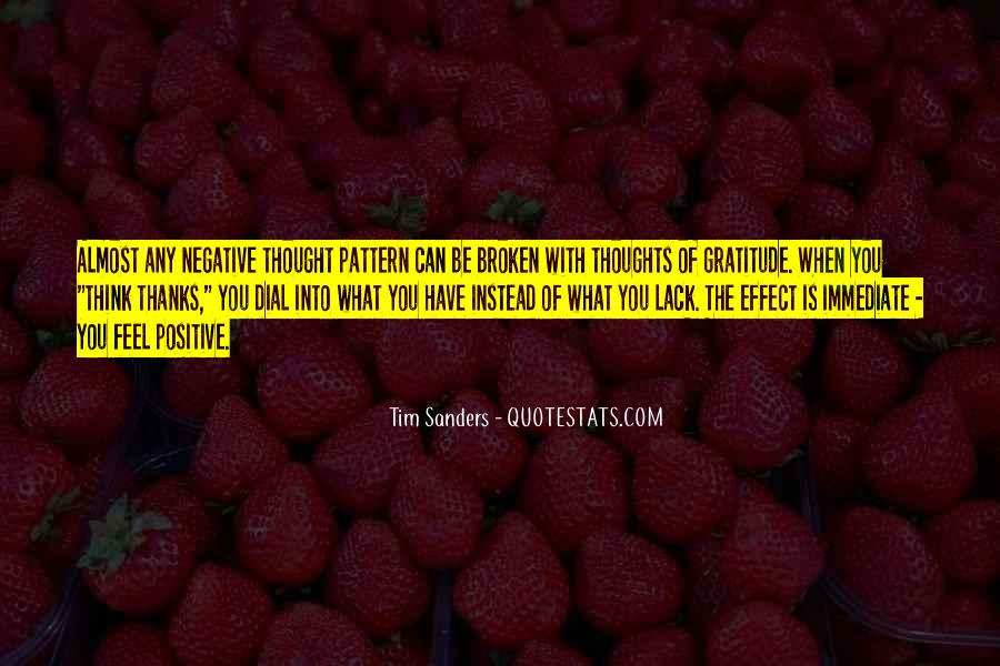 Quotes About Negative Thought #848216