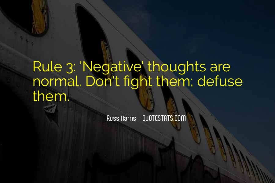 Quotes About Negative Thought #898750