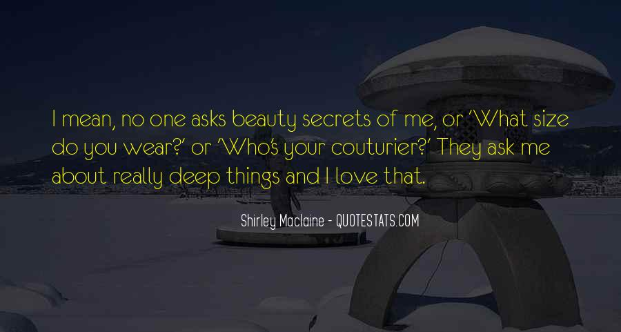 Quotes About Things I Love About You #279632