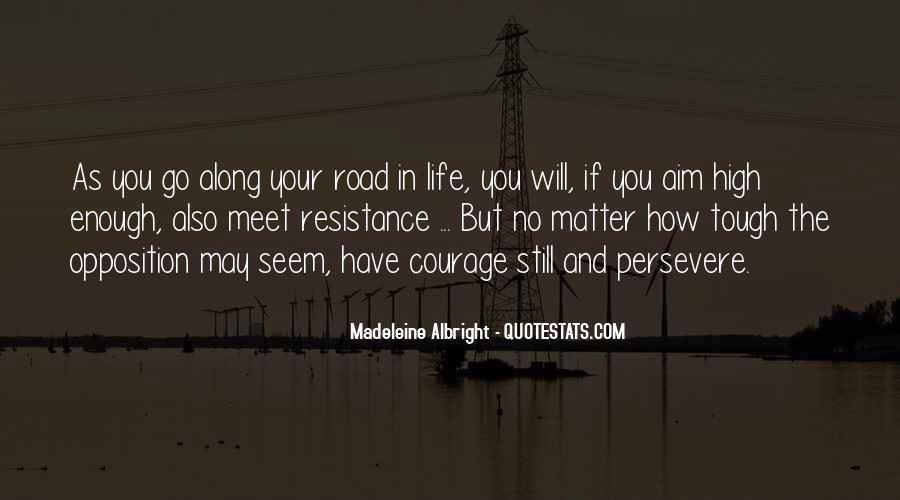 Aim For Success Quotes #1117627