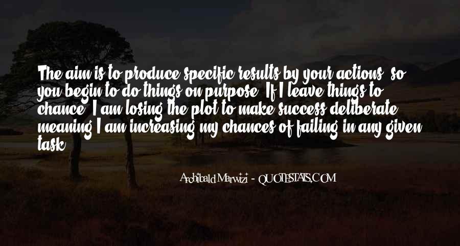 Aim For Success Quotes #1156131
