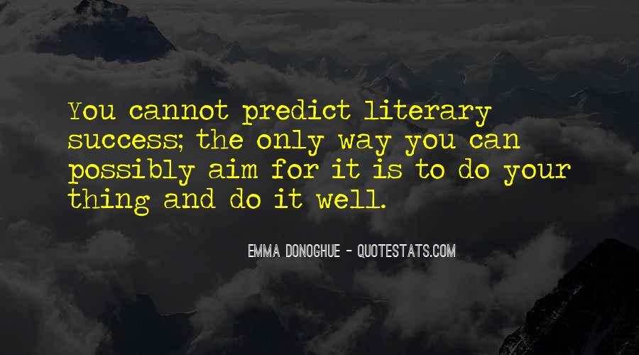Aim For Success Quotes #1330792