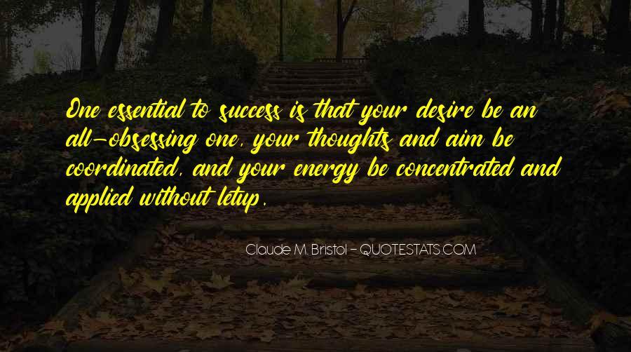 Aim For Success Quotes #1547986