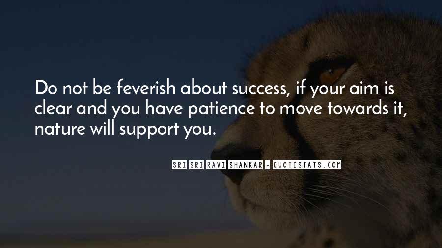 Aim For Success Quotes #15931
