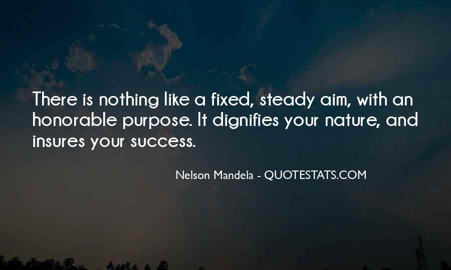 Aim For Success Quotes #1601037