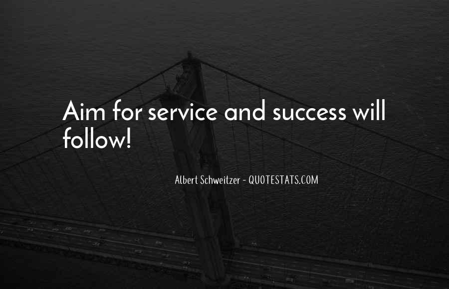 Aim For Success Quotes #1607155