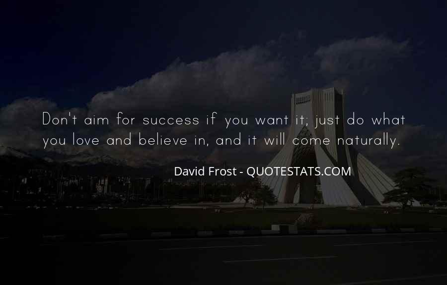 Aim For Success Quotes #184251