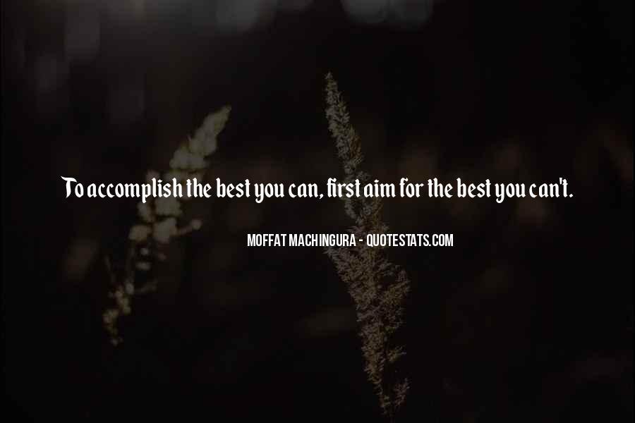 Aim For Success Quotes #1863193