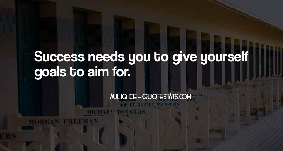 Aim For Success Quotes #254663