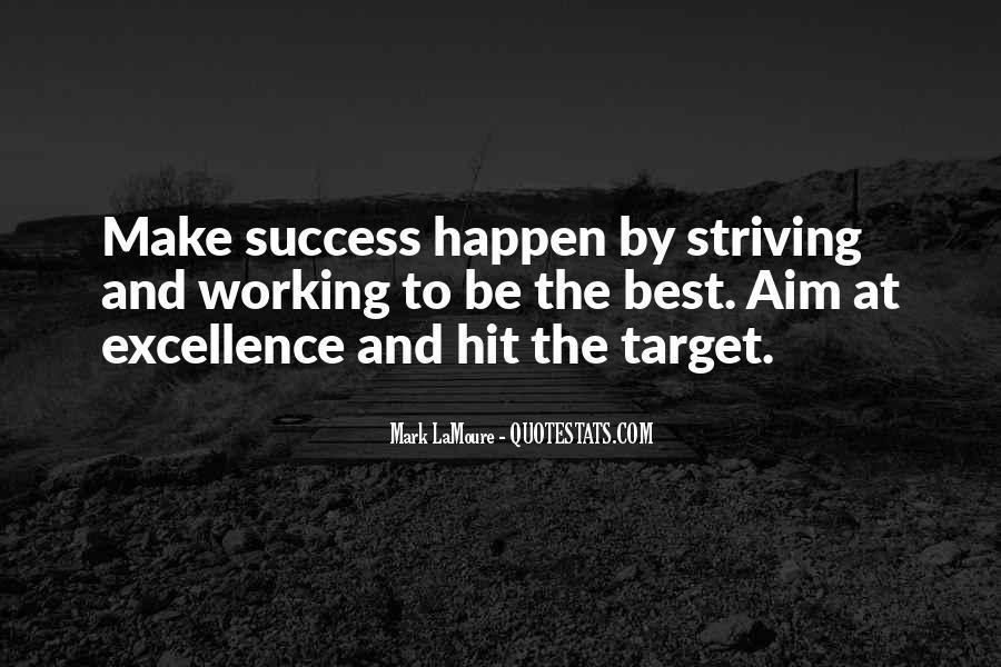 Aim For Success Quotes #261377