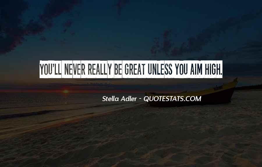 Aim For Success Quotes #352829