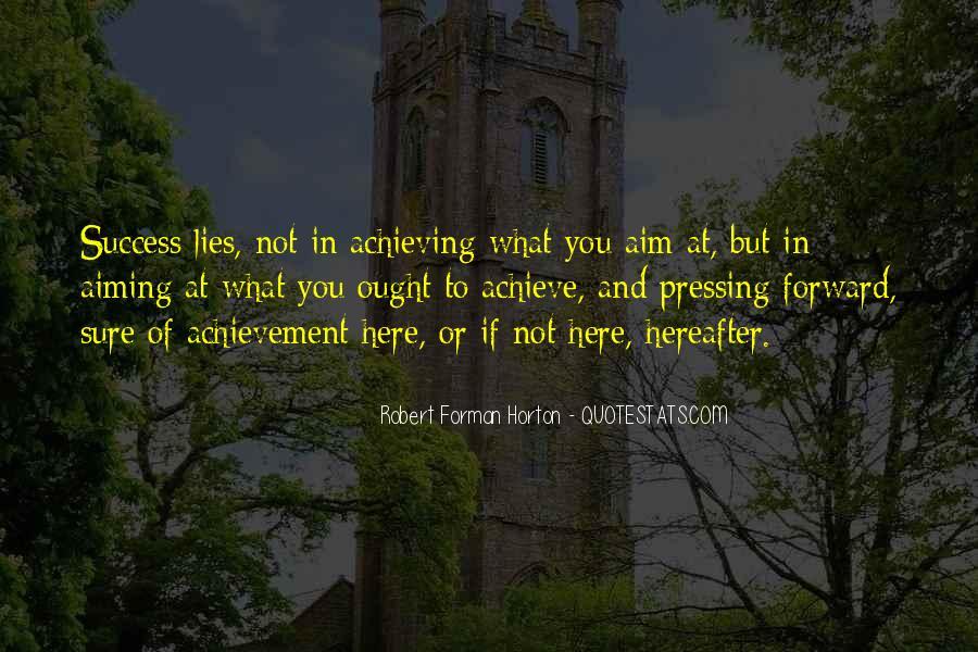Aim For Success Quotes #431608
