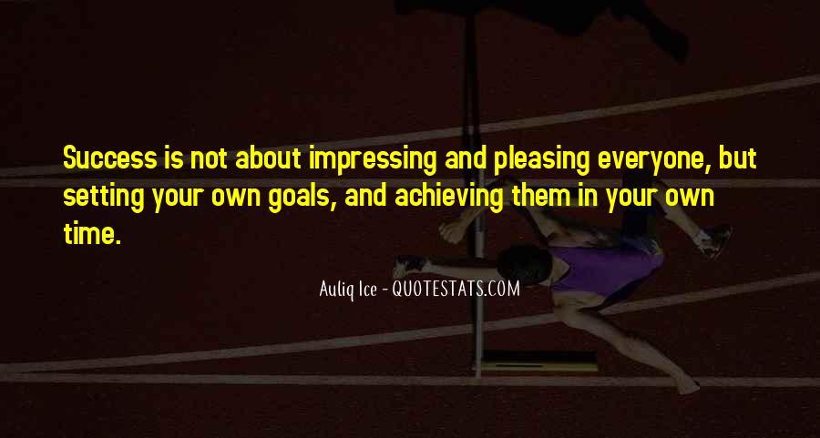 Aim For Success Quotes #835630