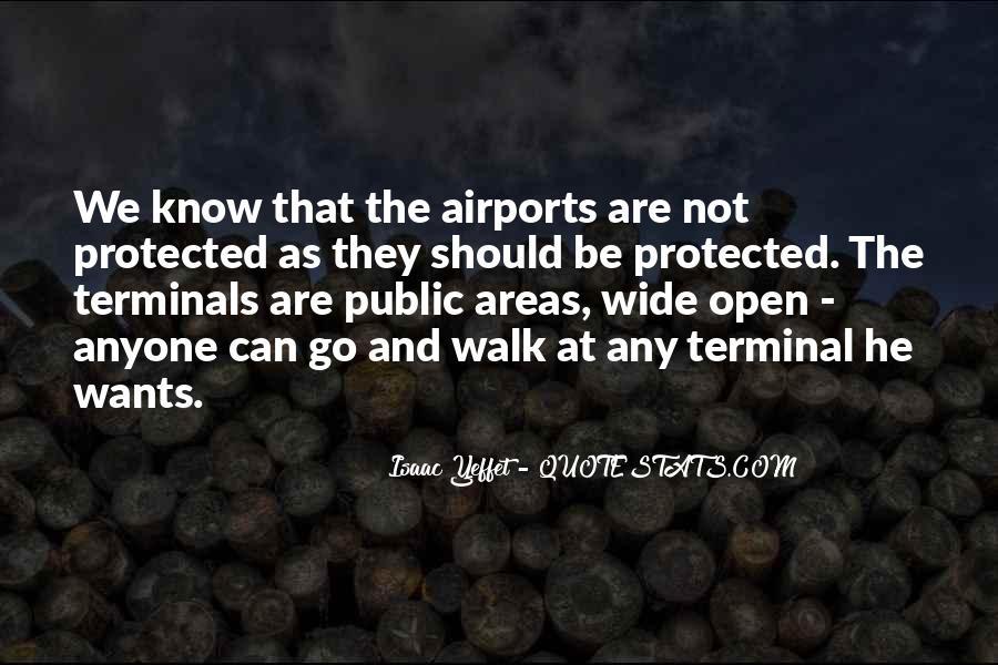 Airport Terminal Quotes #199084