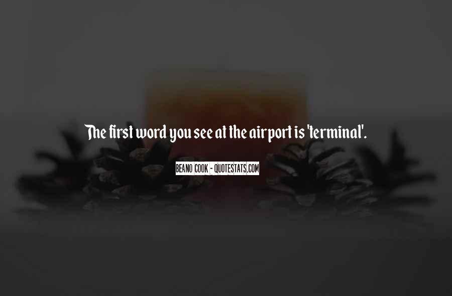 Airport Terminal Quotes #799772