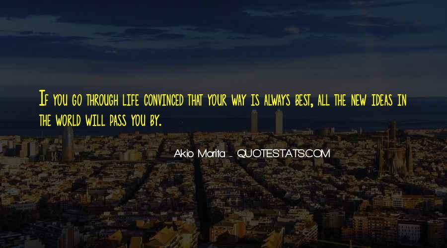 Akio Morita Best Quotes #1852563