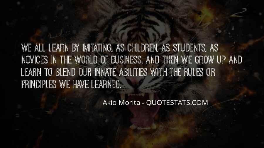 Akio Morita Best Quotes #970716