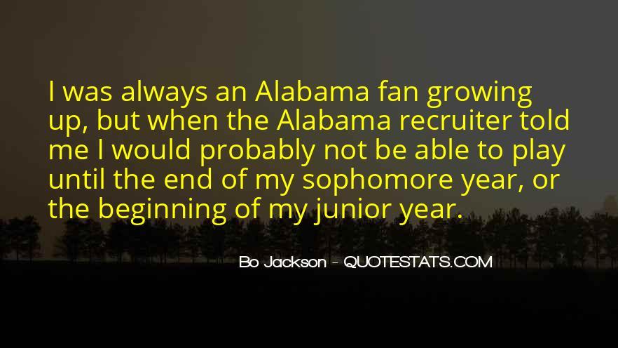 Alabama Fan Quotes #881592