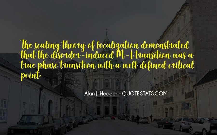Alan Heeger Quotes #375758