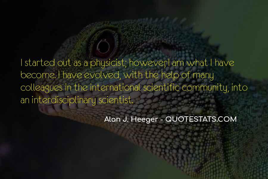 Alan Heeger Quotes #891378