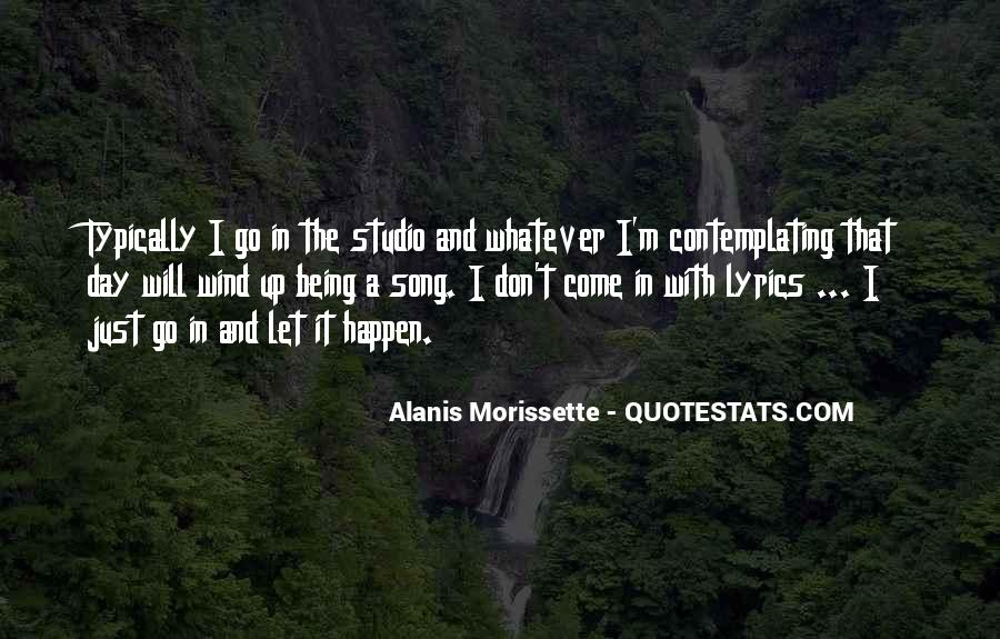 Alanis Morissette Song Quotes #1126992