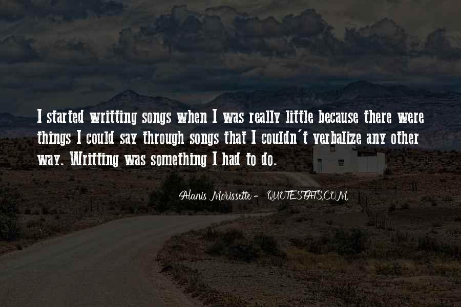 Alanis Morissette Song Quotes #830512