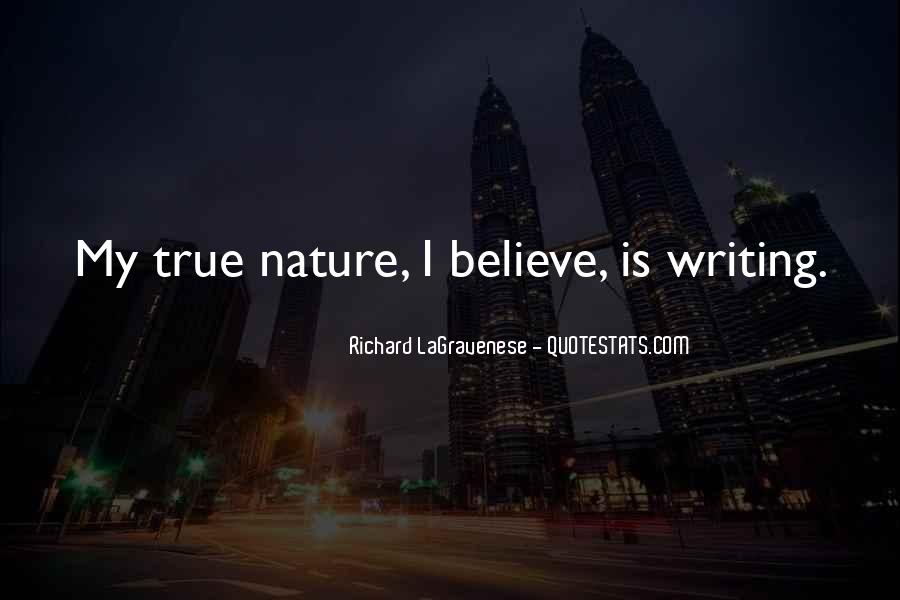 Quotes About Nature Writing #131814